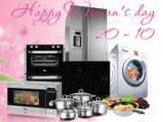 Tin tức ẩm thực - Tặng vợ yêu không gian bếp hiện đại ngày 20/10