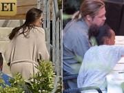 Làng sao - Lộ hình ảnh đầu tiên của Angelina Jolie sau khi tuyên bố ly hôn Brad Pitt