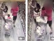 Clip Eva - Con gái suýt bị bắt cóc khi mẹ mải chọn hàng trong siêu thị