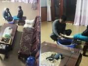 Tin tức - Đâu cần ngày 20/10, vợ U50 được chồng đun nước lá, rửa chân cho mỗi tối