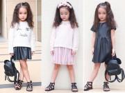 Tin tức thời trang - Chu Diệp Anh phong cách với thời trang MANGO Kids