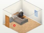 Nhà đẹp - Phong thủy phòng ngủ: Cấm kị giường ngủ đối diện cửa và cách hóa giải