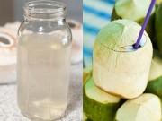 Làm đẹp - Một mũi tên trúng 8 đích khi bạn uống nước dừa liên tục trong một tuần