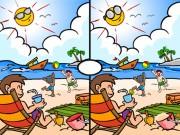 Tìm 7 điểm khác nhau trong hai bức hình này