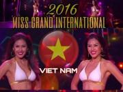 Nguyễn Thị Loan ra về trắng tay, Việt Nam sẽ là nơi diễn ra Miss Grand International 2017
