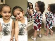 Làm mẹ - Đây là hai cô bé song sinh sở hữu triệu fan trên thế giới vì đẹp như búp bê sống
