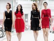 Tin tức thời trang - Những mẫu váy ren không thể bỏ qua trong mùa thu này