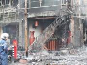 """Tin tức - Cháy quán karaoke: """"Có người nhảy từ tầng 3 xuống thoát thân"""""""
