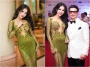 Làng sao - Vợ chồng Bebe Phạm – Dustin Nguyễn tình tứ, ngọt ngào trên thảm đỏ
