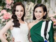 Làng sao - Angela Phương Trinh rạng rỡ đi dự tiệc trà của Trâm Nguyễn