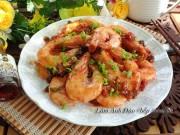 Bếp Eva - Tôm rim mặn đơn giản đưa cơm