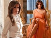 Thời trang - Vẻ đẹp nóng bỏng của Tân đệ nhất Phu nhân Mỹ - Melania Trump
