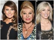 """Tin tức - Chân dung 3 người vợ tài giỏi, nóng bỏng đã """"hút hồn"""" tân Tổng thống Mỹ Donald Trump"""