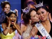 """Thời trang - Không thể nhịn cười vì hình ảnh """"khó đỡ"""" của các hoa hậu khi đăng quang"""