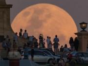 """Những hình ảnh  """" siêu trăng thế kỷ """"  đẹp lung linh trên bầu trời Việt Nam và thế giới"""
