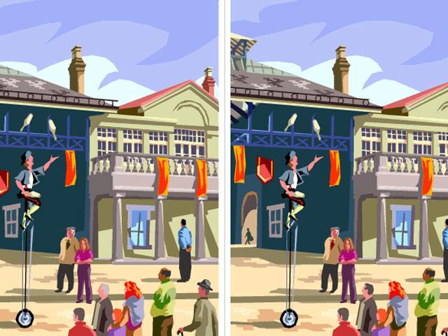 Bạn sẽ là thiên tài nếu tìm đủ 10 điểm khác nhau trong hai bức hình này