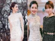 Chi Pu diện váy xuyên thấu, tự tin đọ sắc với Park Shin Hye