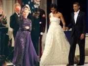 Phu nhân tổng thống Mỹ chọn váy gì trong lễ nhậm chức của chồng
