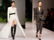 Thời trang - Lan Khuê, Trang Khiếu kẻ tung người hứng trên sàn diễn thời trang