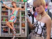 """Thời trang - Mạng xã hội lại """"chấn động"""" vì loạt váy bao tải, rau củ của """"thánh thời trang"""""""