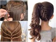 Làm mẹ - 11 kiểu tóc đẹp chưa mất 5 phút, mẹ bận mấy vẫn kịp tết cho con đi học