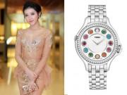 Thời trang - Á hậu Huyền My gợi cảm với mốt xuyên thấu, đeo đồng hồ trăm triệu dự sự kiện