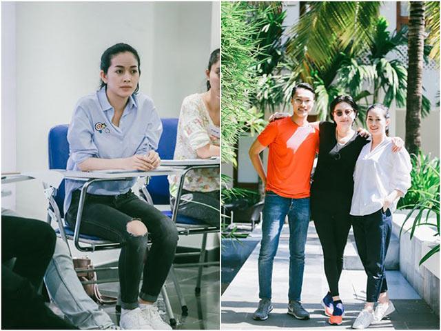 Mai Thanh Hà tìm đến chuyên gia Hàn Quốc để học diễn xuất cho phim mới