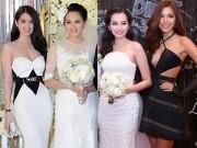 Thời trang - Mặc nổi bật hơn cả cô dâu, nhiều sao Việt bị chỉ trích vì chơi trội khi đi đám cưới