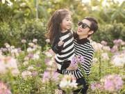 Xuân Lan và con gái vui đùa trong nắng ấm đầu đông Hà Nội