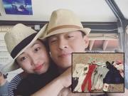 Làng sao - Mới gần đẻ, vợ Lam Trường đã mua đồ cho con gái đủ mặc đến 9 tháng tuổi