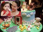 Ấm cúng như sinh nhật 1 tuổi của con gái mỹ nhân đẹp nhất Philippines