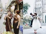 """Eva Yêu - Ảnh cưới đáng yêu của cặp đôi vợ """"to gấp rưỡi"""" chồng"""