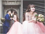 Làng sao - Lê Hoàng (The Men) hôn vợ ngọt ngào trong ảnh cưới tại Australia