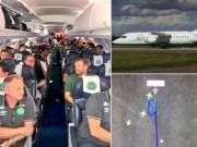 Tin tức - Tin nóng: Máy bay chở 1 đội bóng Brazil rơi, 76 người thiệt mạng