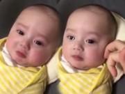 Clip Eva - Tan chảy với clip em bé khóc mếu máo vì nhớ bố