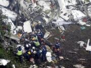 Tiết lộ bất ngờ vụ rơi máy bay chở đội bóng Brazil khiến 71 người chết
