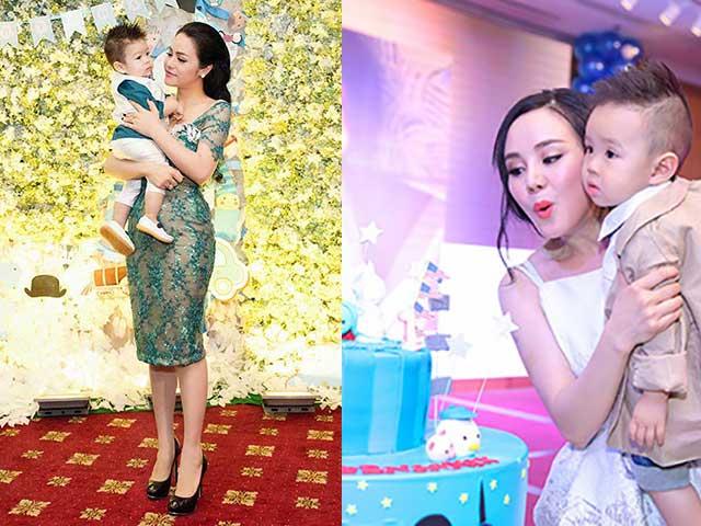 Những bữa tiệc thôi nôi hoành tráng cỡ 5 sao của con sao Việt