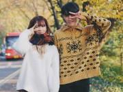 """Hàn Quốc mùa vàng đẹp như thơ qua bộ ảnh mới của Min và """"soái ca"""" Choi Min Soo"""