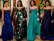 Những hình ảnh thời trang cuối cùng trước khi rời Nhà Trắng của bà Obama