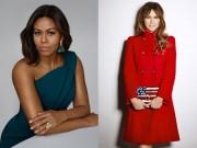 Thời trang - Đệ nhất phu nhân Mỹ Melania Trump và Michelle Obama cùng làm giám khảo Miss World