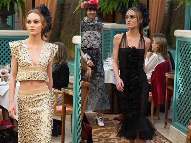 Con gái xinh đẹp của Johnny Depp lần đầu catwalk trong show Chanel