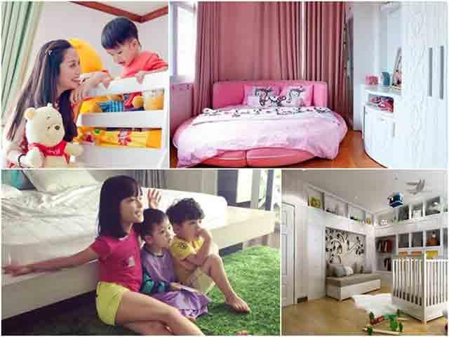 Choáng ngợp trước những căn phòng ngủ triệu đô của nhóc tì nhà sao Việt
