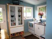 Nhà đẹp - Muôn kiểu thiết kế tủ cho phòng bếp siêu chật