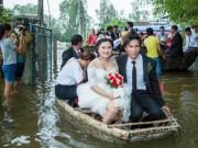 Clip Eva - Độc đáo đám cưới đón dâu bằng thúng câu mực