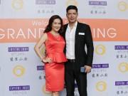 Tin tức giải trí - Vợ chồng Bình Minh dự sự kiện khai trương Crystal Jade Kitchen Việt Nam