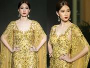 Nghẹt thở trước vẻ đẹp vạn người mê của Hoa hậu Thu Thảo khi lần đầu catwalk