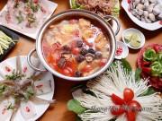 Bếp Eva - Xì xụp lẩu hải sản nóng hổi, thơm nức