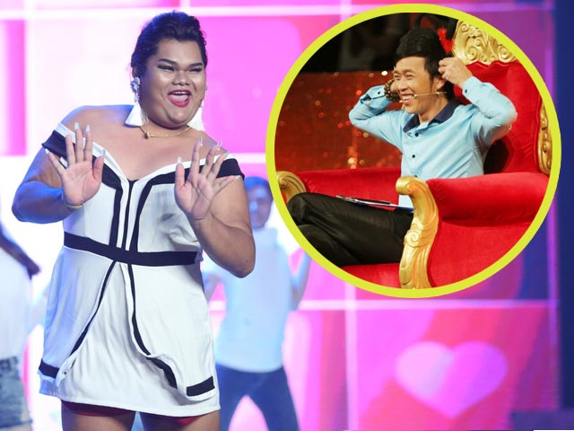 Quá bất ngờ, nàng béo Happy Polla sang Việt Nam diễn hài khiến Hoài Linh thích thú