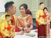 Làng sao - Hoa đán TVB bất ngờ tổ chức đám cưới tại nhà thờ ở Canada