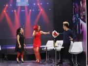 Làng sao - Kỳ tài thách đấu: Lan Phương bị đánh ghen vì tình tứ với Trấn Thành